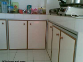 Kitchen set pvc